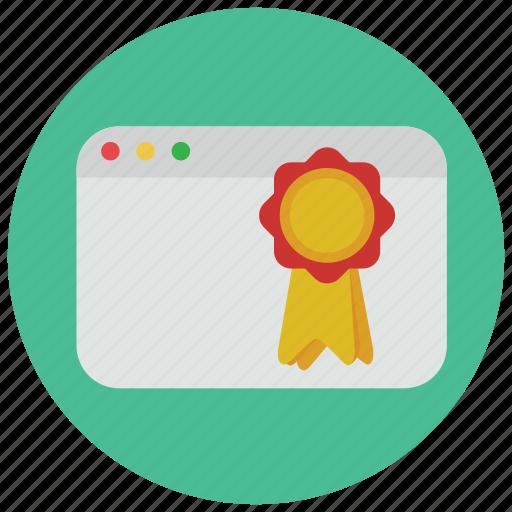 bookmark, browser, website, window icon