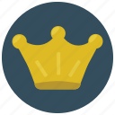 award, crown, prize, reward, value icon