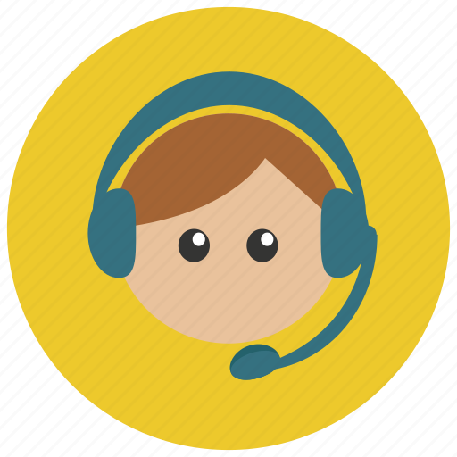 customer, headphone, headset, service icon