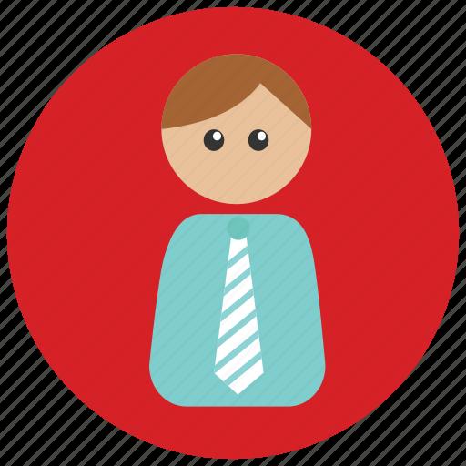 employee, formal, member, team icon