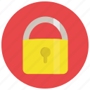 lock, locked, padlock, privacy, security icon