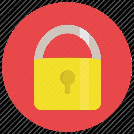 lock, locked, padlock, privacy, security icon