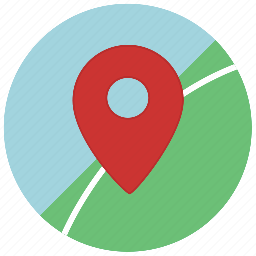 map, marker, navigation, pointer icon