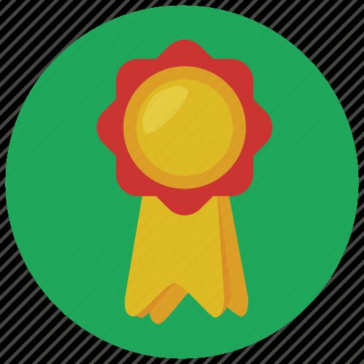 award, prize, reward, ribbon icon