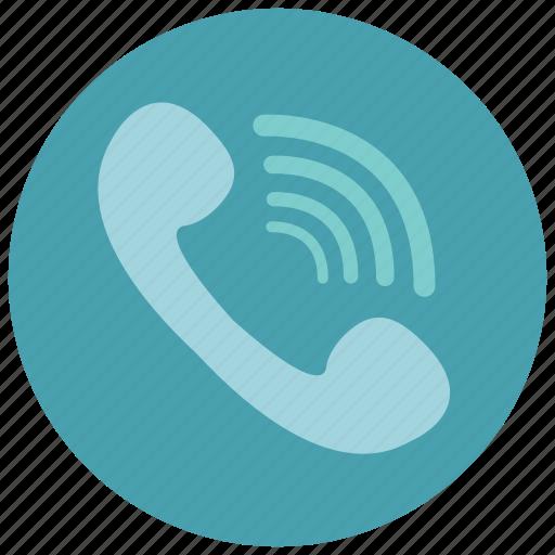 call, communication, conversation, phone, ringing icon