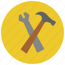maintenance, options, preferences, settings icon