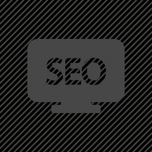 marketing, monitor, seo, service icon