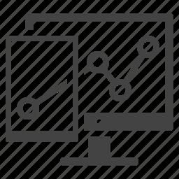 growth, statistics, web analytics icon