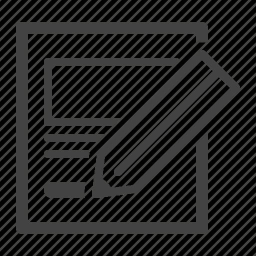 edit, file, sketch icon