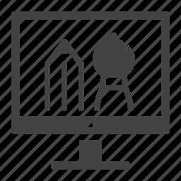 creative, graphic design, web design icon