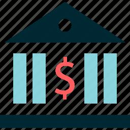 bank, banking, dollar, online icon
