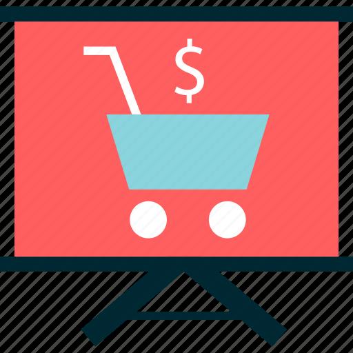 board, learn, learning, shopping icon