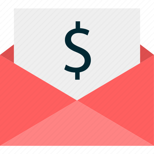 email, mail, money icon