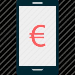 euro, sign, wealth icon
