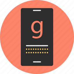 dial, mobile, phone, search icon