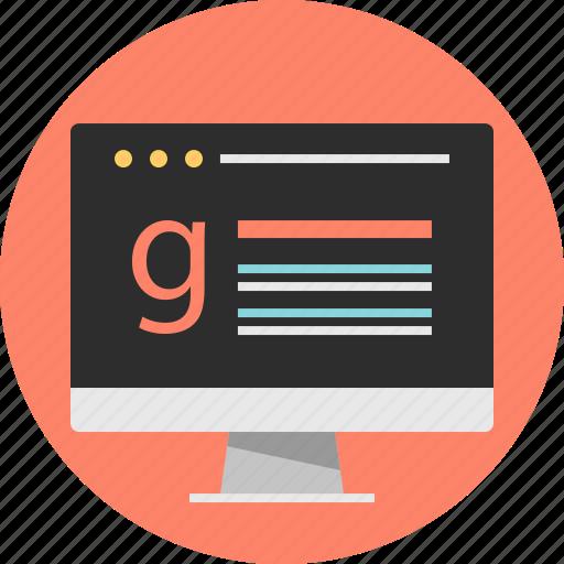 internet, online, web icon