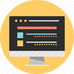 internet, online, website icon