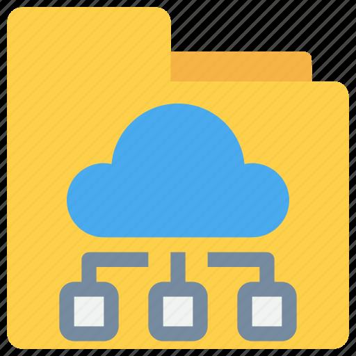 Cloud, data, database, folder, online, storage icon - Download on Iconfinder