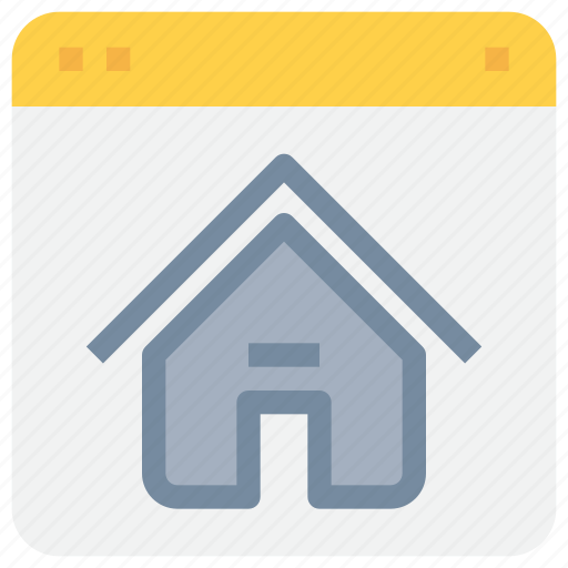 Browser, home, internet, page icon - Download on Iconfinder