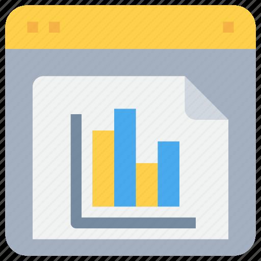 business, data, graph, report, seo icon