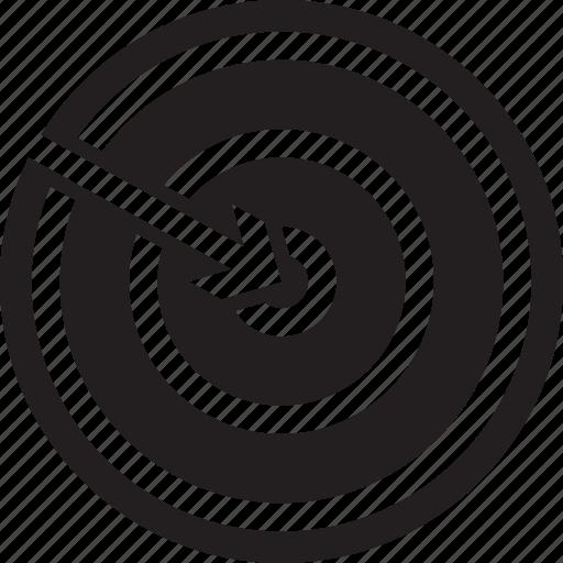 marketing, target, targeting icon