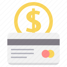 card, currency, dollar, exchange, money, pay, payment icon