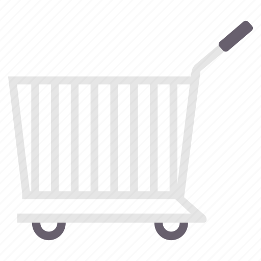 basket, buy, cart, ecommerce, empty, shop, trolley icon