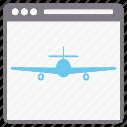 internet, landing page, network, seo, web, webpage, window icon