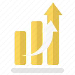 chart, growth, high, hike, increase, sale, sales icon