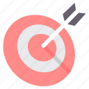 aim, arrow, arrows, bullseye, dart, dartboard, direction icon