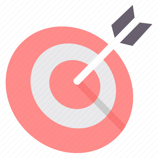 aim, arrow, arrows, bullseye, dart, dartboard, direction icon