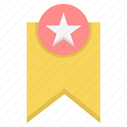 award, badge, favorite, favorites, favourite, medal, star icon