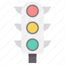 road, signal, signals, traffic, transport, transportation icon