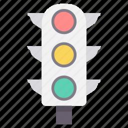 road, signal, signals, traffic, transport, transportation icon