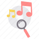 music, search, audio, cd, magnifier, play, song