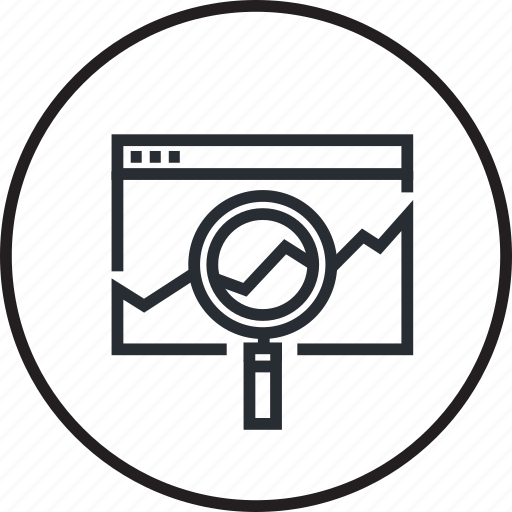 development, internet, line, seo, traffic monitoring, website icon