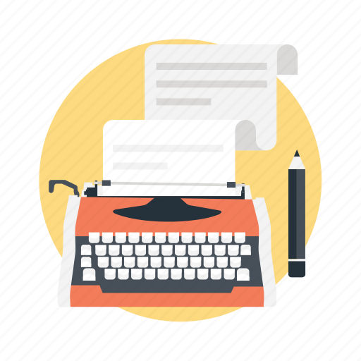 article writing, blog post, content writing, copywriting, press release icon