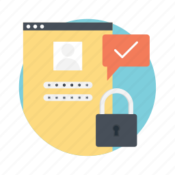 code, login protection, login screen, passcode, password icon