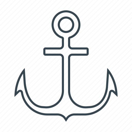 anchor, link, mark, sea, search, seo, ship icon