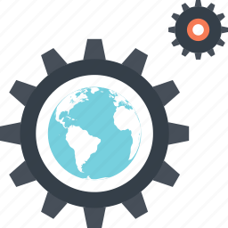 cogwheel, development, optimization, performance, seo, settings, web icon