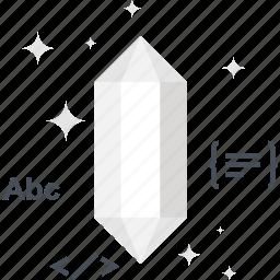 clean, code, diamond, gem, optimization, program, programming icon