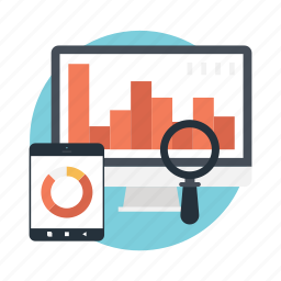 clickstream analysis, key performance indicator, kpi, web analytics, website traffic icon