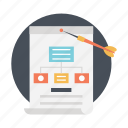 flowchart, information architecture, sitemap, web design, web sitemap icon