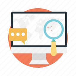 search results, web traffic, website marketing, website ranking, website rating icon