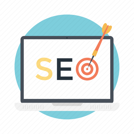 long tail seo, on page seo, seo best practices, seo campaigns, seo targeting icon