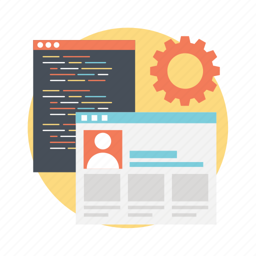 algorithm update, ui development, ui marketing, ux development, ux optimization icon