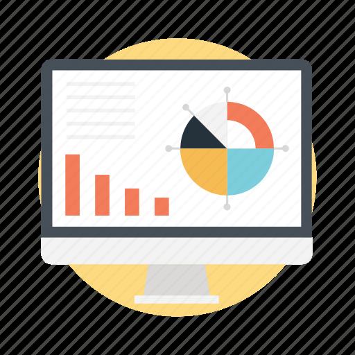 data analysis, data analytics, information analytics, marketing research, web optimization icon