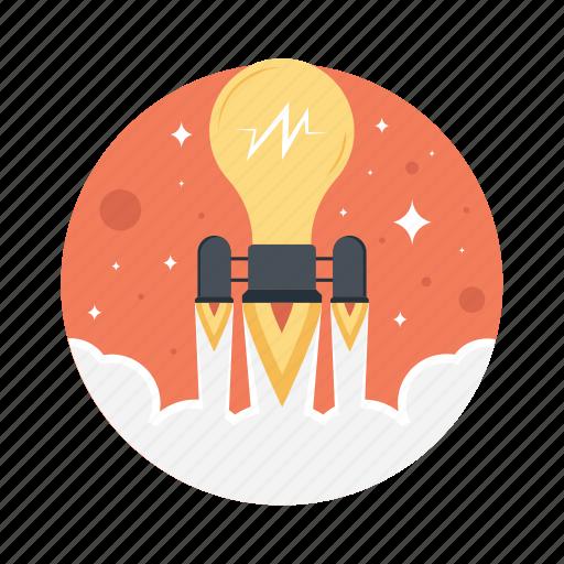 business launch, business startup, entrepreneur, new business, starting a business icon