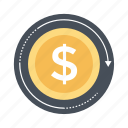 business sync, currency refresh, currency value, finance, money reload icon