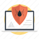 computer bug, computer virus, internet hacker, internet virus, virus bug icon